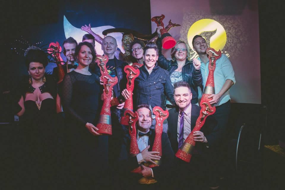 Dobitniki in dobitnice Zlatih Tifanij Foto: David Lotrič