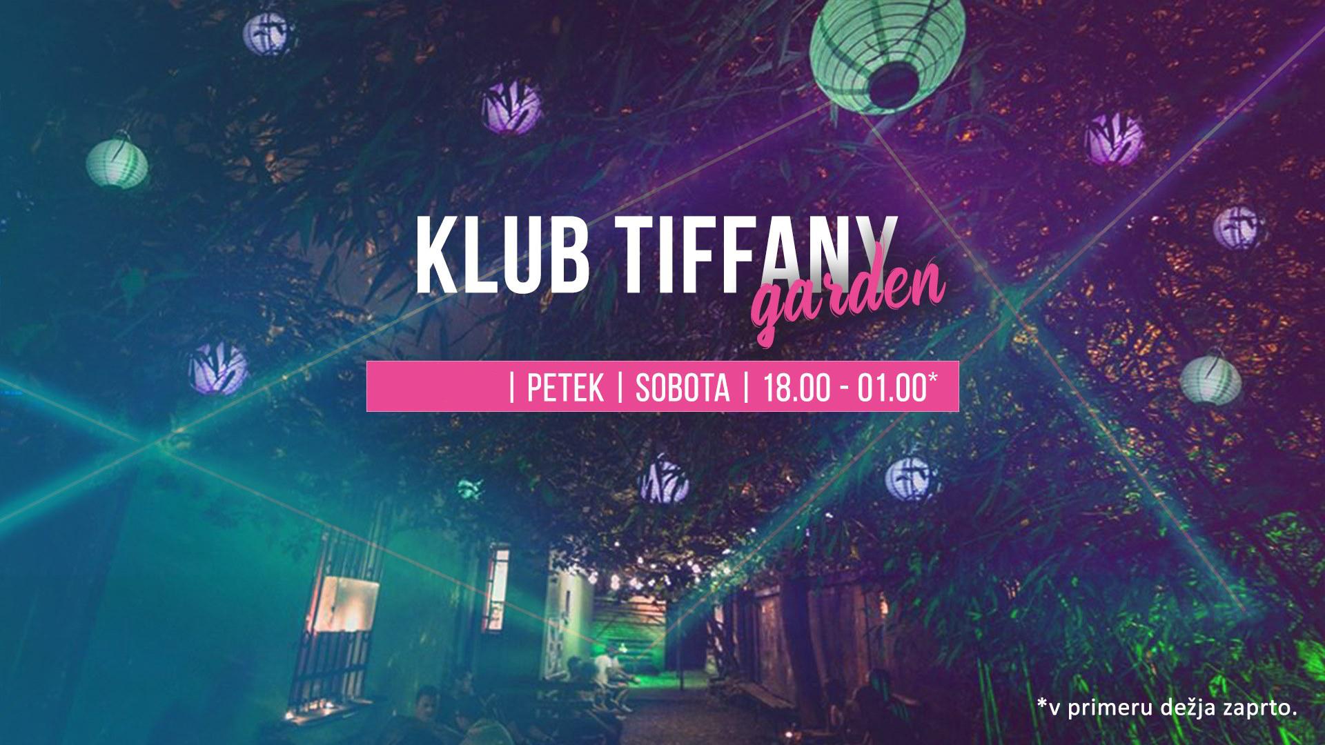 Klub Tiffany Garden avgust