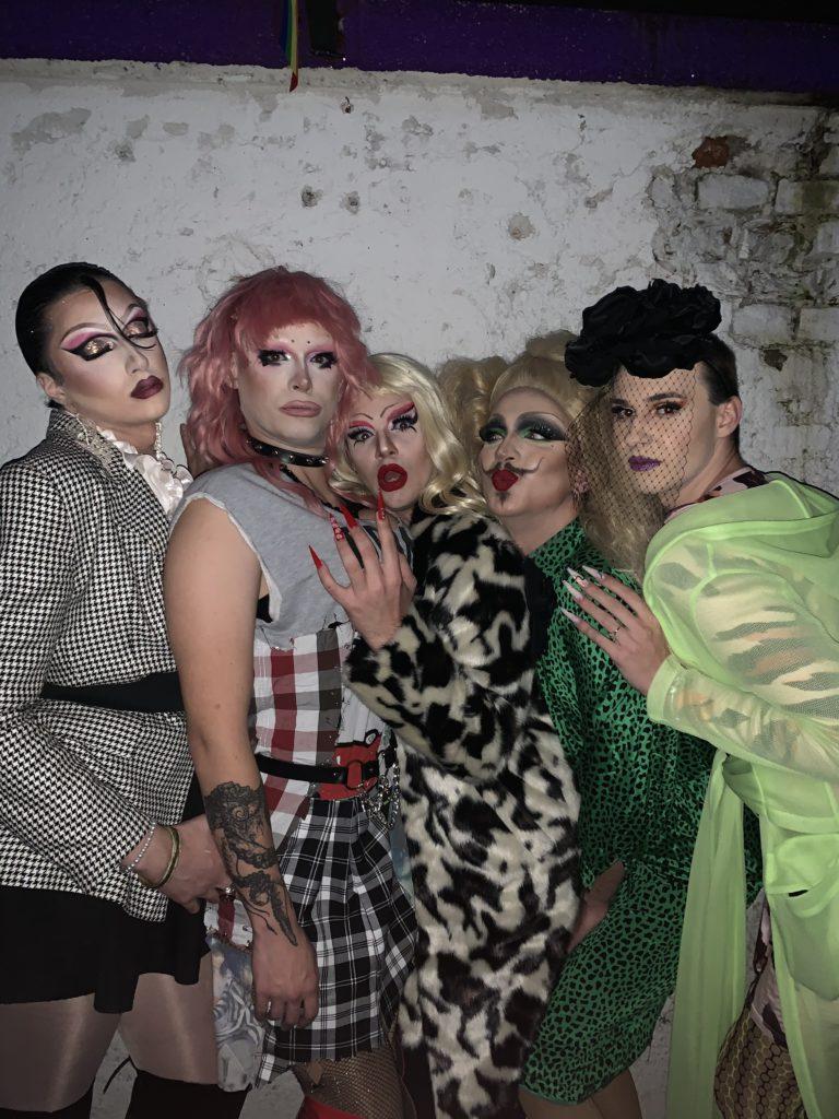 Plastika Dynasty, Babsi Adler, Patricia Vulva, Vera Vulva, Viki (foto: arhiv Vera Vulva)