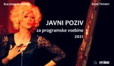 Javni poziv za programske vsebine 2021