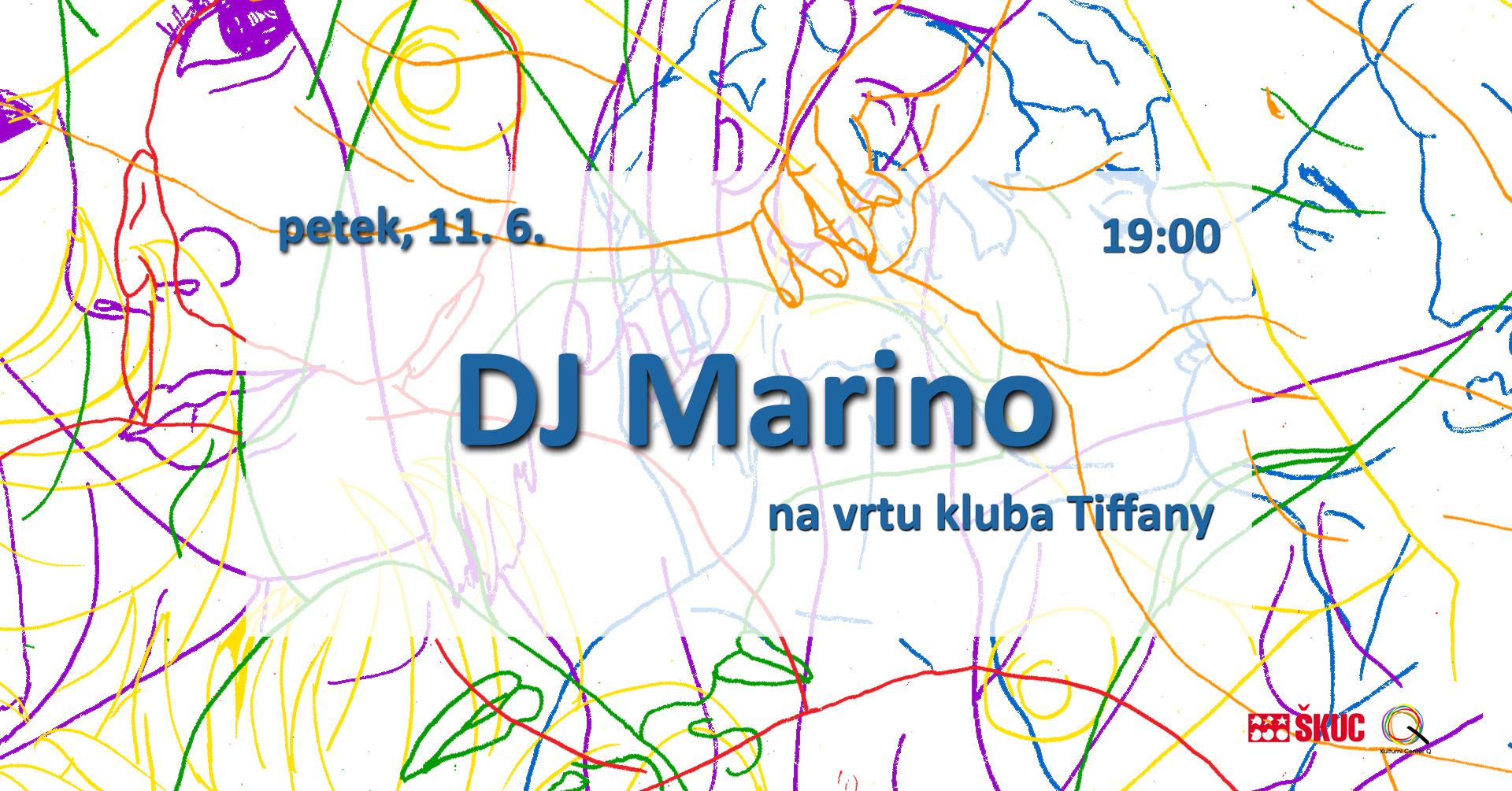 DJ MARINO na vrtu 11.6