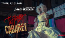 Kabaret Tiffany pred ŠKUCem