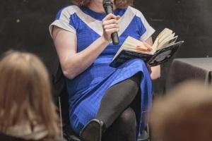 """Literarni večer z Juliet Jacques – """"Trans: A Memoir"""" © Rebeka Bernetič"""