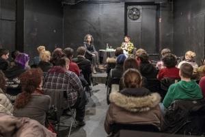 Predstavitev antologije evropske lezbične poezije © Rebeka Bernetič